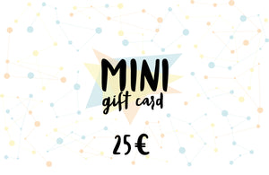 MINI Gift card, value of 25 euro