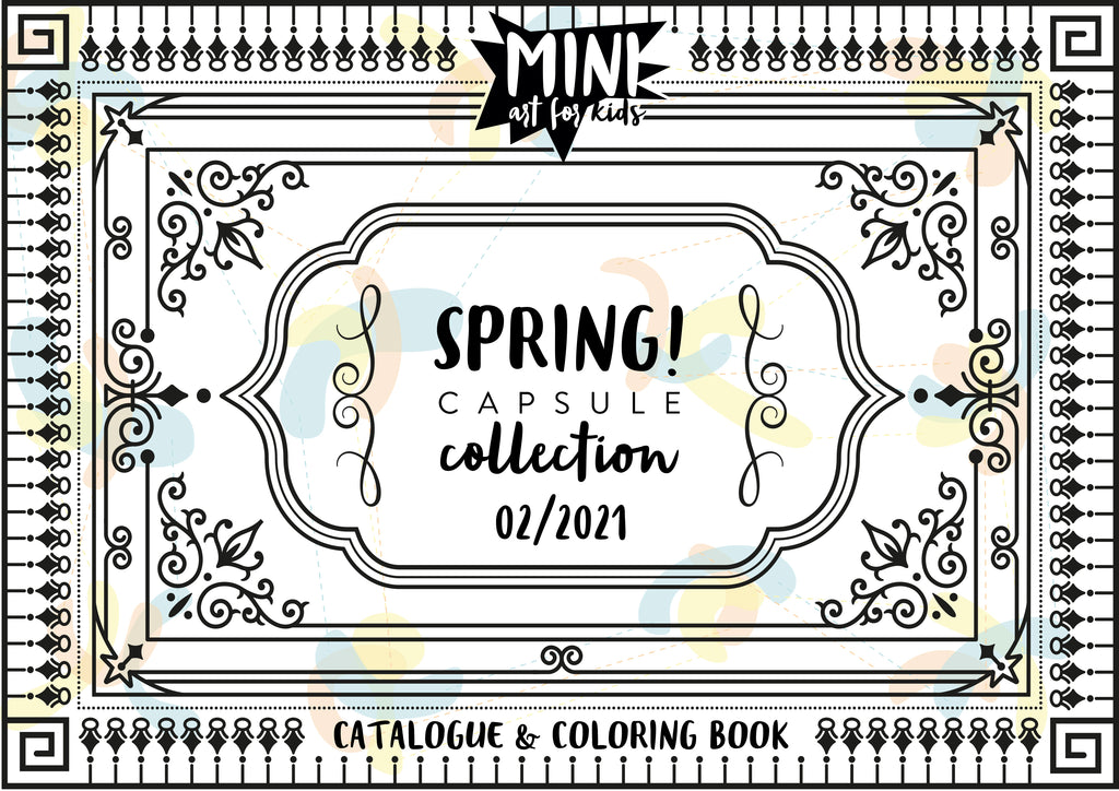 SPRING! catalogue & coloring book