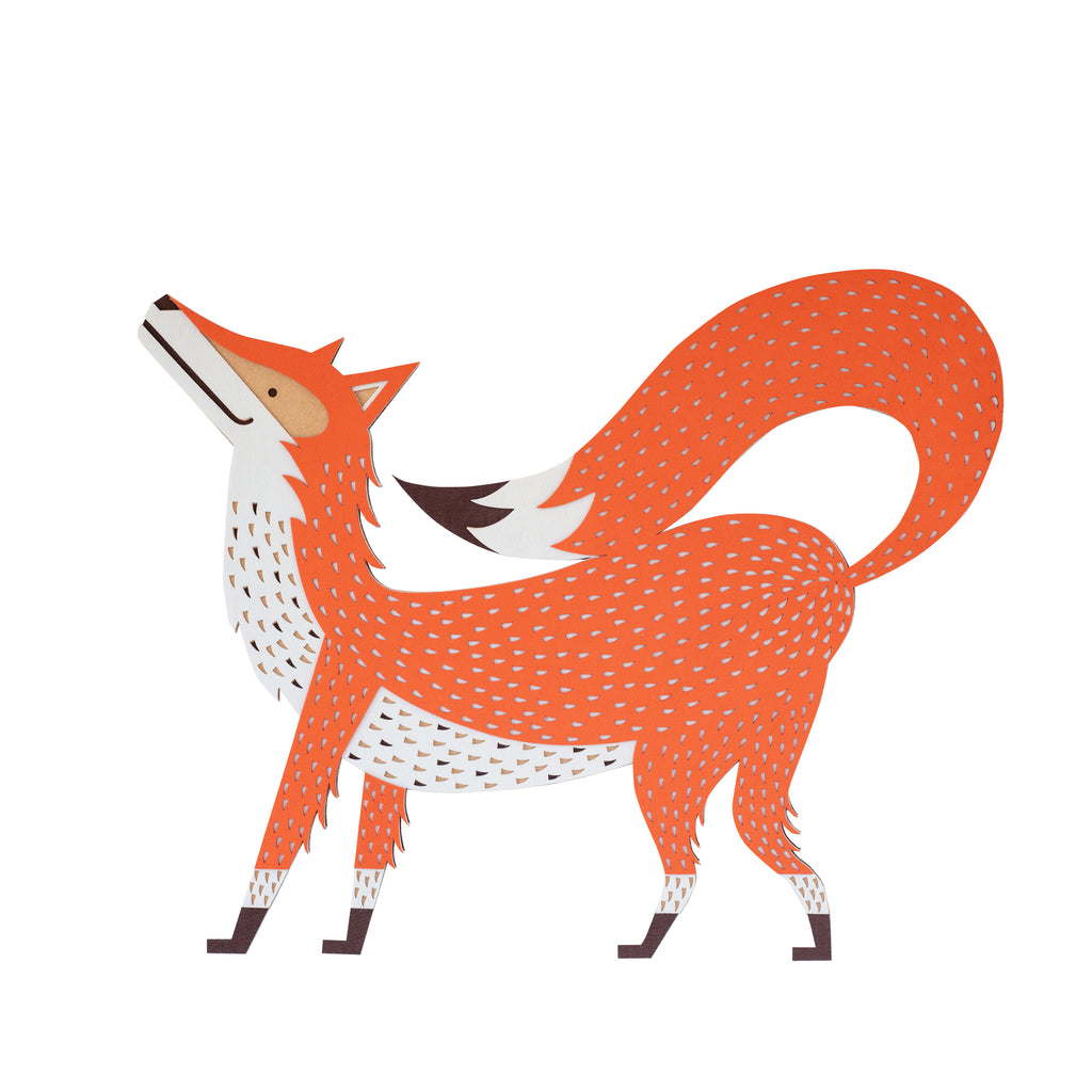 The MINI artwork REDDYTHEFOX, for kids decor room