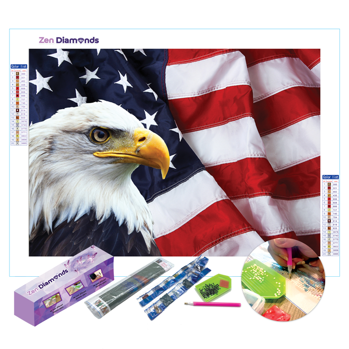Americana Diamond Painting Set