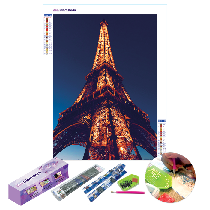 Eiffel Diamond Painting Set