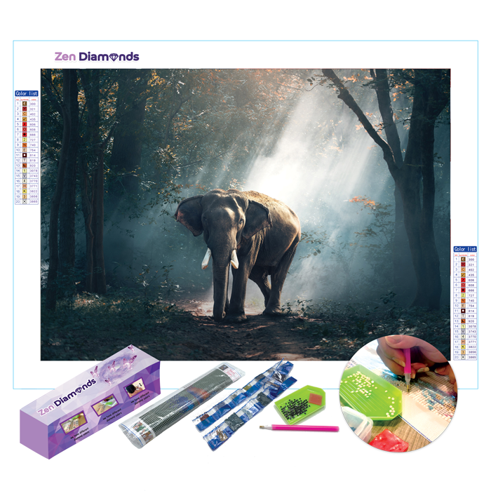 Gentle Giant Diamond Painting Set