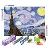 Starry Night Diamond Painting Set