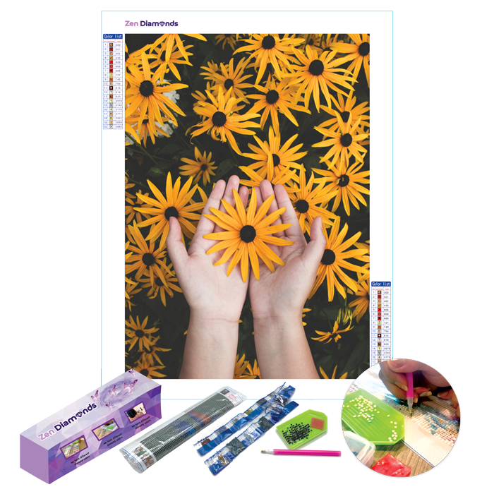 Sunflowers Diamond Painting Set