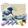 The Great Wave Diamond Painting Set