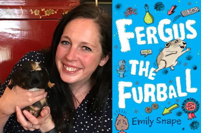 Author interview with Emily Snape, creator of Fergus the Furball
