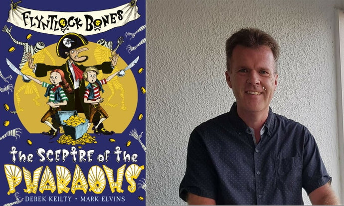 An interview with Derek Keilty about Flyntlock Bones: The Sceptre of the Pharaohs and his favourite pirate books for kids