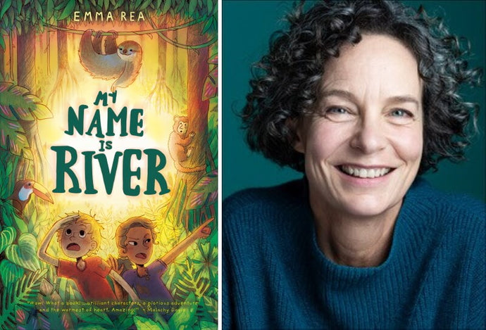 An interview with Emma Rea about My Name is River and other adventure books for kids