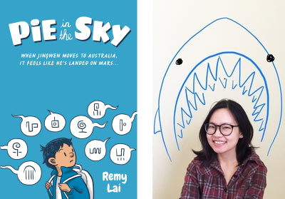 A Books.Ink interview with Remy Lai, author of Pie in the Sky