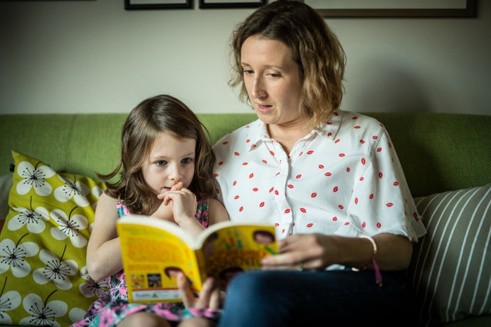 5 top tips for inspiring your child to love reading