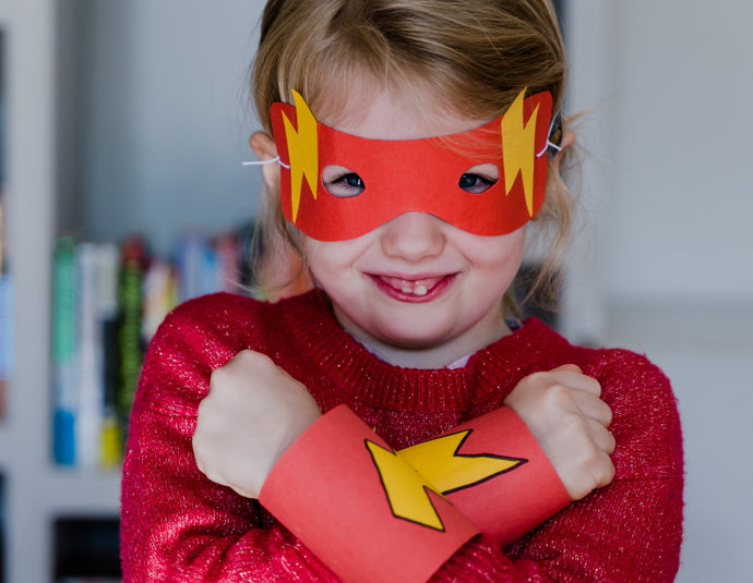 Quick craft activity: make your own superhero costume