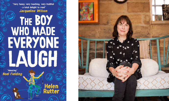 An interview with Helen Rutter about The Boy Who Made Everyone Laugh and her favourite funny books for kids
