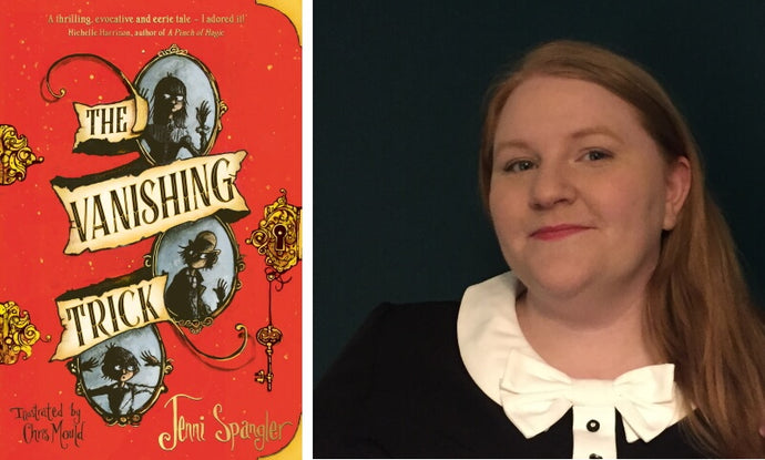 An interview with Jenni Spangler about The Vanishing Trick and her favourite historical books for kids