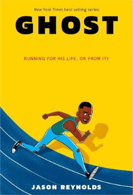 Ghost by Jason Reynolds, part of the Run series