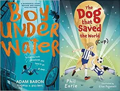 Boy Under Water and The Dog that Saved the World covers