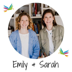 Emily and Sarah, Parrot Street founders