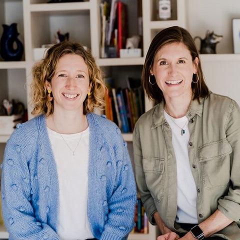 Emily and Sarah, founders of Parrot Street children's book club