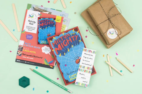 Example of monthly subscription book boxes for kids