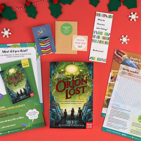 Parrot Street Book Club gift set of Orion Lost
