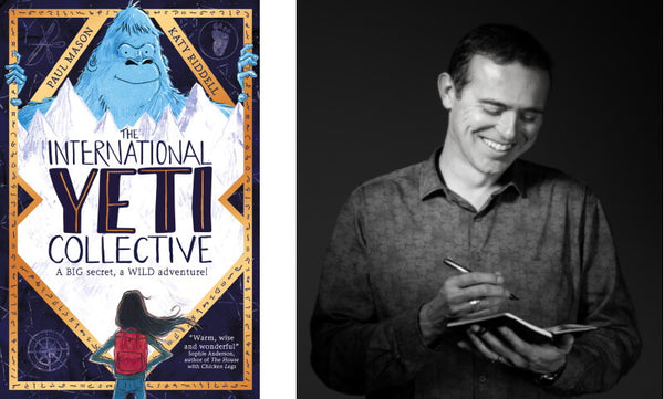 The International Yeti Collective by Paul Mason. Book cover and author photograph.