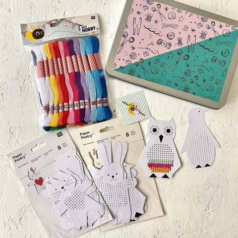 The Sewcial Circle embroidery gift set