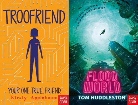 Troofriend and FloodWorld book covers
