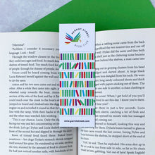Load image into Gallery viewer, Premium bookmark, a great present for children who love to read.