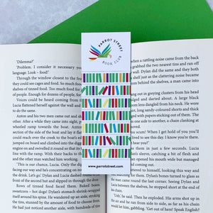 Premium bookmark, a great present for children who love to read.