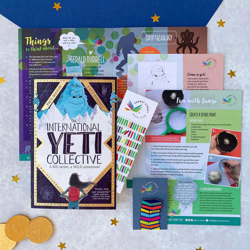 The International Yeti Collective gift set, a perfect present for 8 year old+