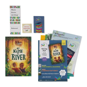 My Name is River book gift set perfect for kids who have everything.