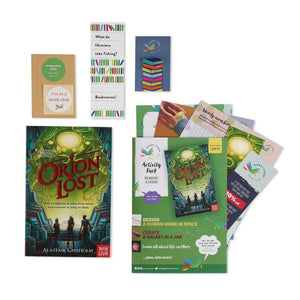 Orion Lost book and gifts perfect for kids 12 and under.