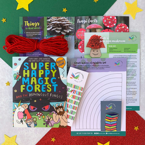 Super Happy Magic Forest book gift for 5 to 8 year olds