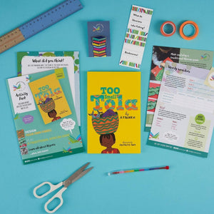 Too Small Tola book gift set, the best for kids 5 years old and up.