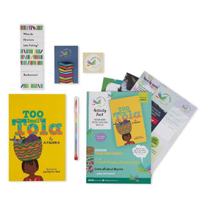 Too Small Tola book gift set, an ideal gift idea that are not toys for kids.