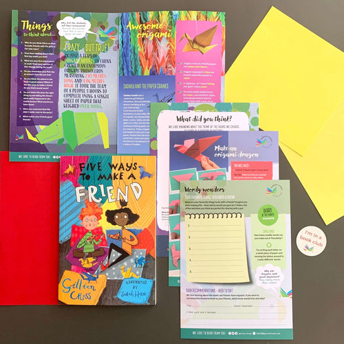 Five Ways to Make a Friend and accompanying activity pack.