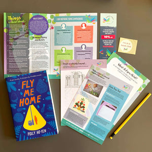 Fly Me Home by Polly Ho-Yen with accompanying activity pack.
