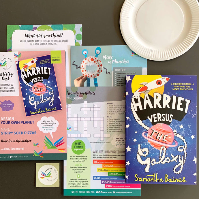 Harriet Versus the Galaxy by Samantha Baines and accompanying activity pack.