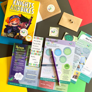 Knights & Bikes by Gabrielle Kent and accompanying activity pack.