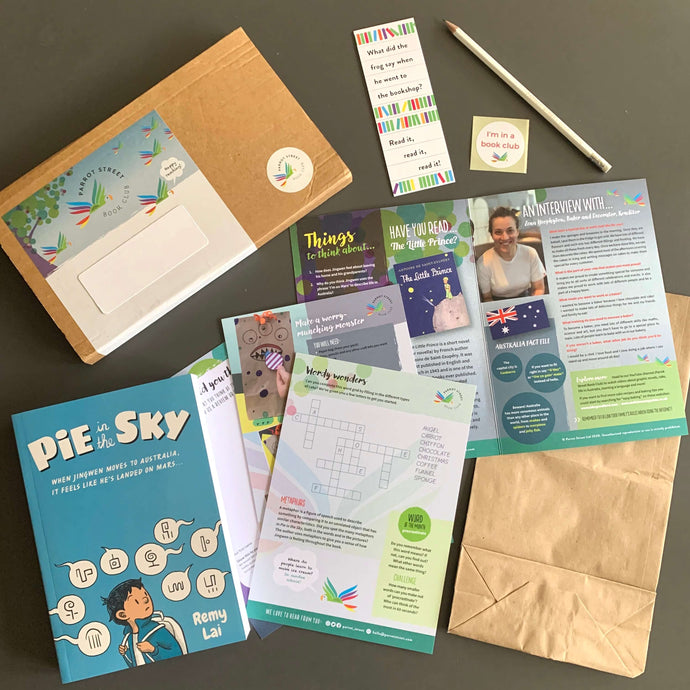 Pie in the Sky by Remy Lai and accompanying activity pack.