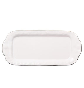 Cantaria Large Rectangular Tray White