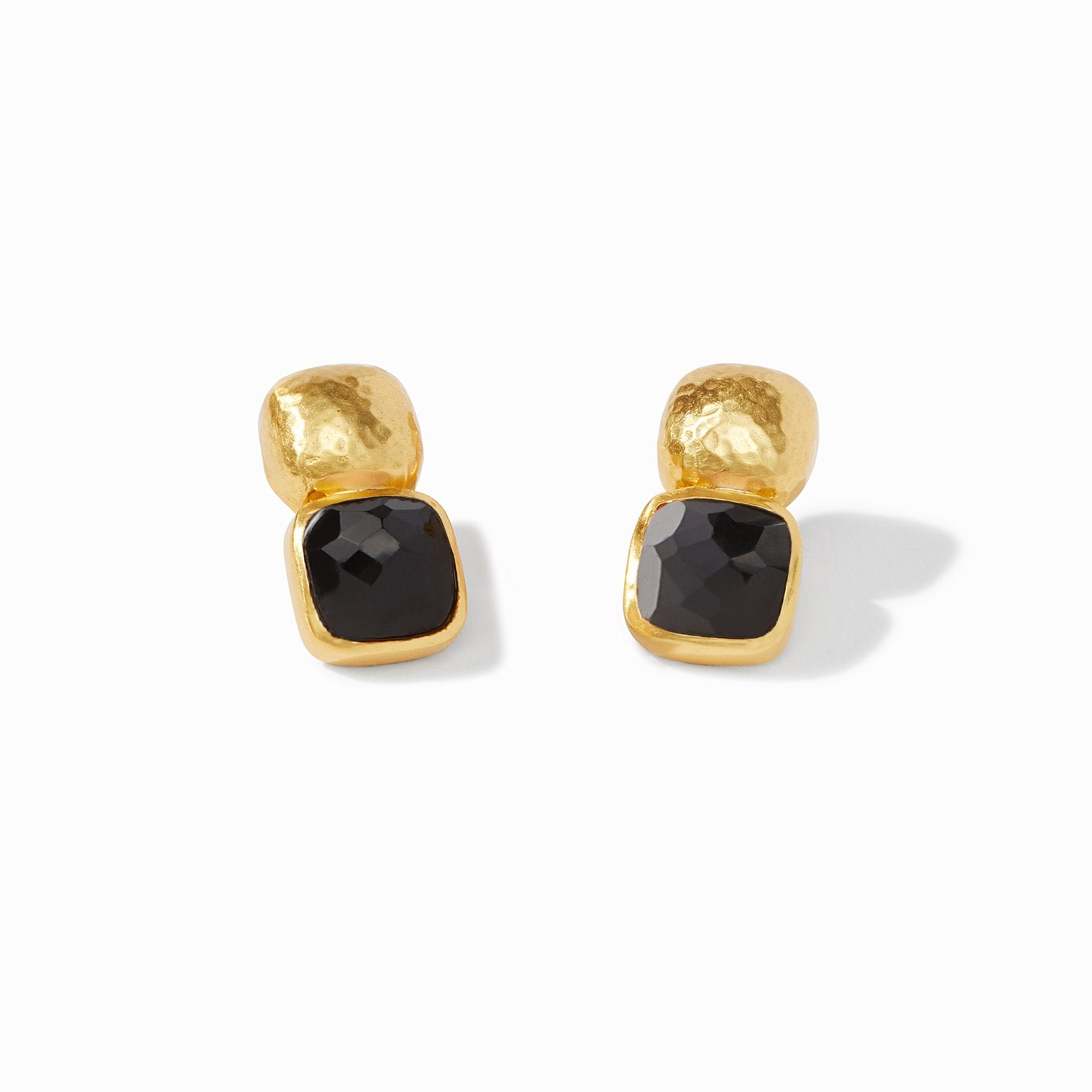 Catalina Earring Obsidian Black