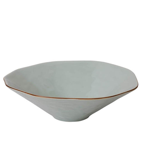 Cantaria Centerpiece Bowl Sheer Blue