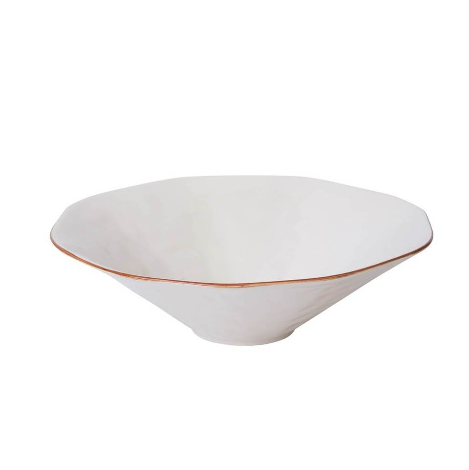 Cantaria Centerpiece Bowl White