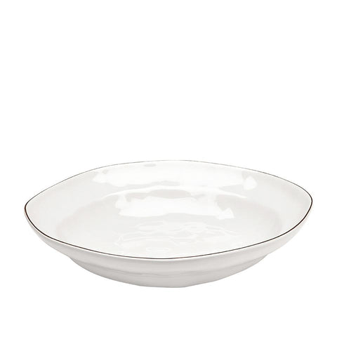 Cantaria Large Pasta Bowl White