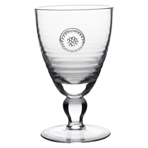 Berry & Thread Footed Goblet