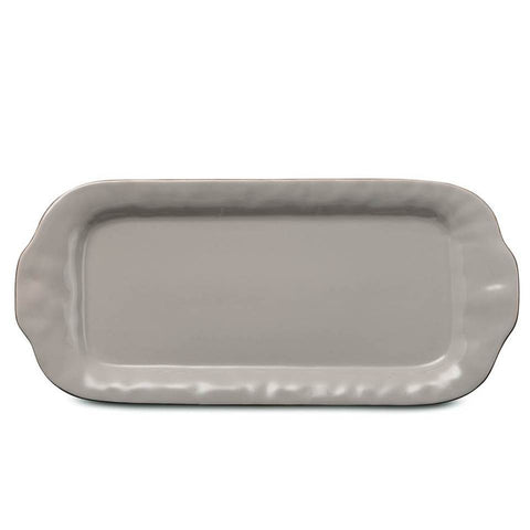Cantaria Large Rectangular Tray Greige