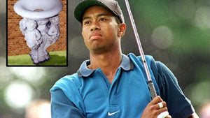BLACK GOLF CLUB NEWS: Augusta National Honors Tiger Woods With Own Drinking Fountain