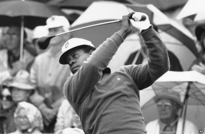 The man who defied death threats to play at the Masters