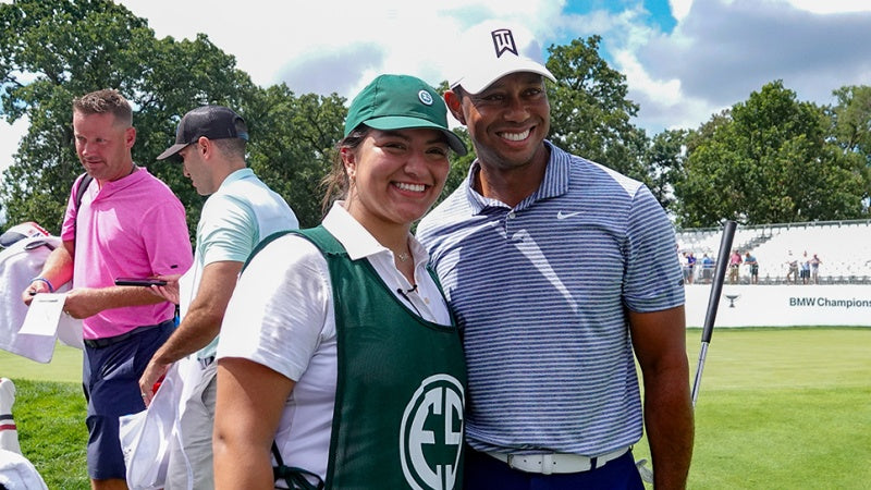 Evans Scholar's path leads to surreal day with Tiger Woods