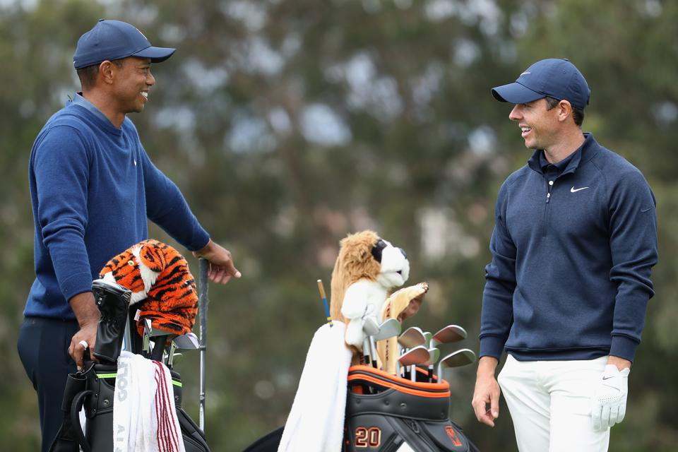 Big Golf News - Tiger Woods And Rory McIlroy Headline New International Tournament